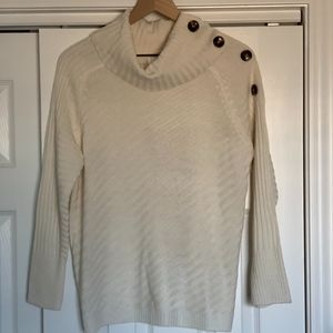 NWT Dress Barn Buttoned Sweater